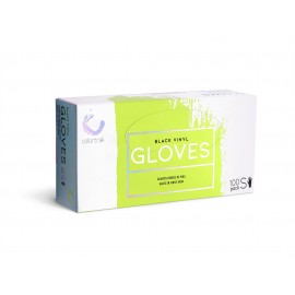 Bet CT Blk vinyl glove 100ct SMALL