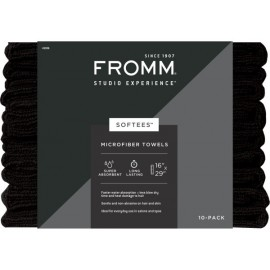 Fro Softees 45006 s towel black 10pk