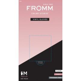 Fro Powder Free vinyl glove 100 MED