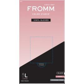 Fro Powder Free vinyl glove 100 LARG