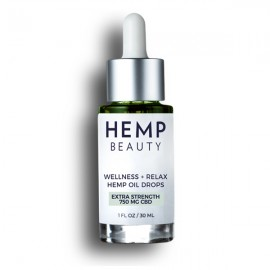 HMP Hemp Oil Drops Mint 750mg 1oz