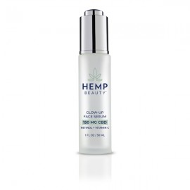 HMP Glow Up Face Serum 1oz 150mg CBD