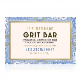 1821 Man Made Grit Bar Soap AM 7oz