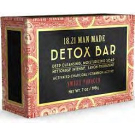 1821 Man Made Detox Bar Soap ST