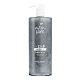 Pot Charcoal Body Wash Liter