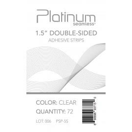 """Pla 1.5"""" Dbl-Sided Adhev Strip (clr)"""