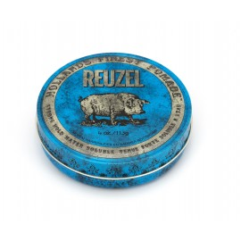 Reu Blue Pomade Strong Hold Pig 4oz