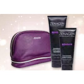 Zen Purple Cosmetic Holiday Bag