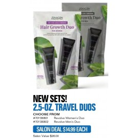 Zen Revolve Womens 2.5-oz TRAVEL DUO